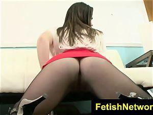 FetishNetwork Tess naughty stocking model