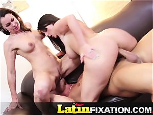 LatinFixation super-hot 3 way with Sophie Dee