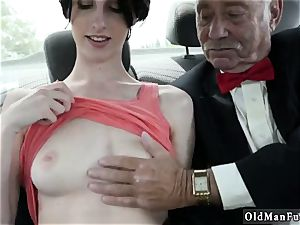 Japan nubile meaty bra-stuffers first-ever time Frannkie goes down the Hersey highway