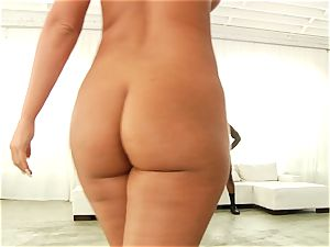 Phoenix Marie getting her bubble butt romped with ebony fuckpole
