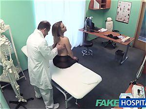 FakeHospital fat melons honey has a back problem