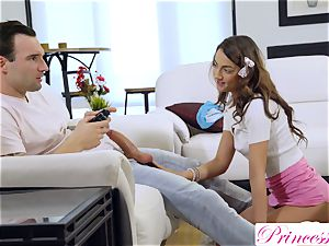 teenager bi-atch plows her gamer stepbrother