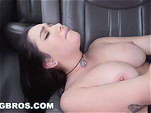BANGBROS - thick funbags adult movie star Karlee Grey on drill Bus