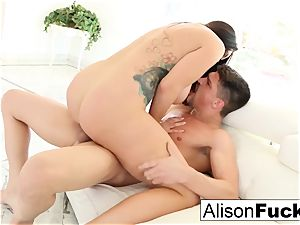 wondrous Alison Tyler takes on phat fuck-stick