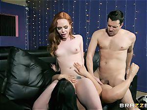 3some fun with Ella Hughes