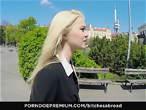 supersluts ABROAD - ash-blonde tourist Misha Cross boinked pov