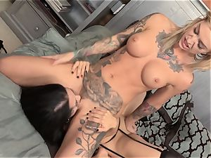 Dark Secrets for tasty honies Kleio Valentien and Katrina Jade