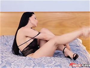 Lusty ginormous tits Hungarian superstar Aletta Ocean is well-prepped to pay money for quality fuckfest