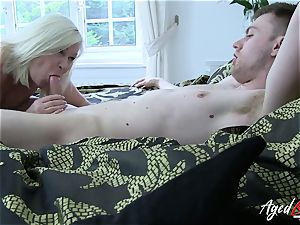 AgedLovE hard-core with sizzling Mature Lacey Starr