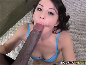 big black cock mega-slut Mia Gold luvs assfuck hook-up with Mandingo