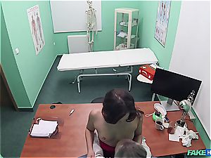 Hidden webcam hump in the doctors office