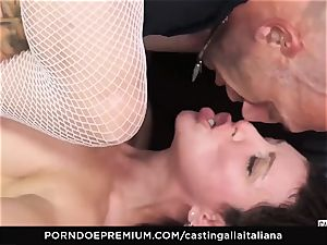 audition ALLA ITALIANA - new-cummer assfuck gape and drill