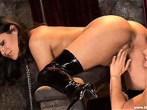 Alluring Charley pursue gets plaything plumbed by Lisa Ann