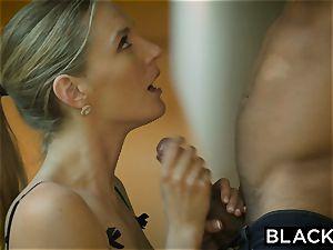 BLACKED warm wifey cuckolds hubby with black neighbor