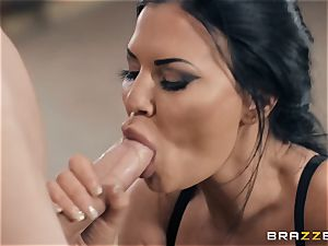 constant man goes rock-hard in Jasmine Jae