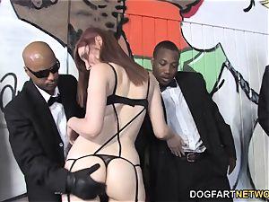 Violet Monroe multiracial group sex