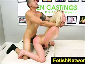 FetishNetwork Aubrey Gold casting couch