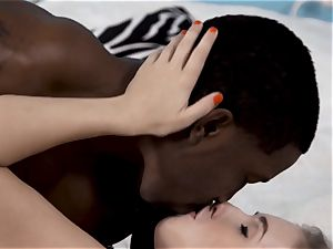 Lena Paul poked by a thick big black cock