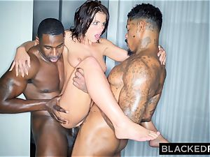 BLACKEDRAW Adriana Chechik Needs A dual dosage Of big black cock