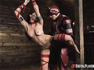 nasty superhero hook-up with Ariana Marie and Xander Corvus