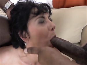 grannie 3somes with 2 black boys plow stiffys in gullet