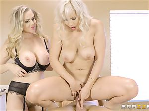 3 way with Julia Ann and Kylie Page