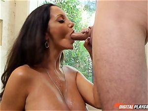 ultra-kinky black-haired Ava Addams has her beautiful poon violated into