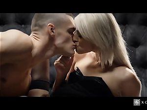 xCHIMERA - glamour hotel apartment plow with platinum-blonde Katy Rose