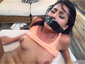 mommy and colleague s daughter-in-law roped gagged first-ever time Sophia Leone Gets It The Way She