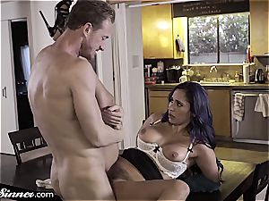 cuckold Reena can't resist her young paramour