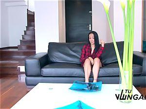 Tu Venganza - sizzling Latina gets her large bosoms spunked