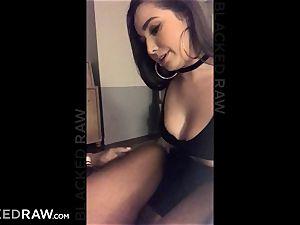 BLACKEDRAW Latina wifey spills with 12 inch monster dark-hued manmeat