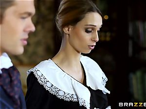 marvelous Maid Erica Fontes ravages in her super-fucking-hot uniform