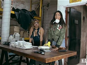luxurious Colombian babes boinked by gangsters