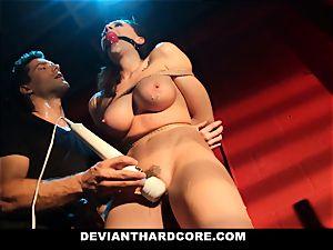 deviant hard-core - Chanel Preston jaws pounded