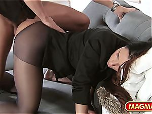 Victoria saucy gets pounded with her clothes on