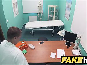 faux hospital insatiable doc gets to screw a fresh slit