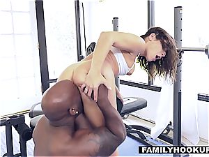FamilyHookups - enormous bum Abella Danger pulverizes stepdad
