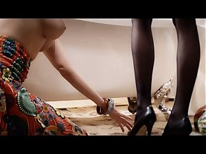 xCHIMERA - Belle Claire sated in sensuous fetish boink