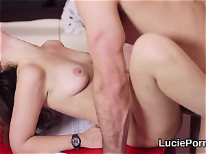 rookie lesbian sweeties get their stretch cunts ate and romped
