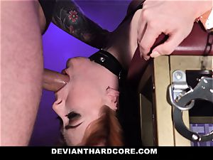 DeviantHardcore - steaming sandy-haired Gets hatch pulverized