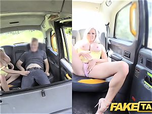 fake taxi hefty funbags ash-blonde Michelle Thorne