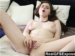 RealGfsExposed immense breasted Elektra is a