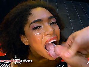 Luna Corazon torn up and creamed - German Goo damsels