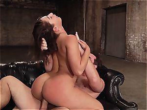 Abella Danger plumbed in her meaty arse fuck hole