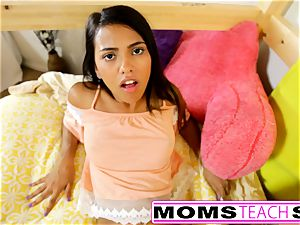 MomsTeachSex - mom And daughter play With parent Gone