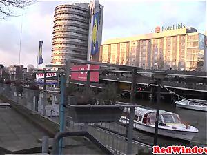 large Amsterdam escort cockriding tourist