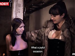LETSDOEIT - black-haired Maid enjoys domination & submission tough torture