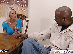 light-haired sweetie Emma Starr insane for the knob next door
