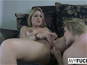 Home flick lovemaking with Avy Scott and Aurora Snow